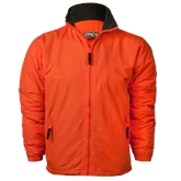 Orange Survivor Jacket-Select-A-Logo