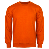 Orange Fleece Crew-Select-A-Logo