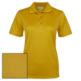 Ladies Gold Dry Mesh Polo-Select-A-Logo