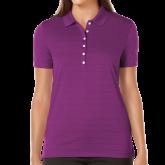 Ladies Callaway Opti Vent Purple Polo-Select-A-Logo