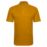 Gold Textured Saddle Shoulder Polo-Select-A-Logo