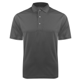 Charcoal Dry Mesh Polo-Select A Logo