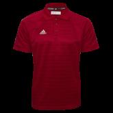Adidas Climalite Cardinal Jacquard Select Polo-Select-A-Logo