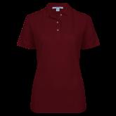 Ladies Easycare Cardinal Pique Polo-Select-A-Logo
