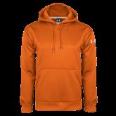 Under Armour Orange Performance Sweats Team Hoodie-Select-A-Logo