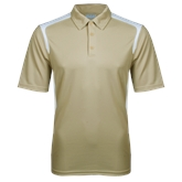 Vegas Gold Textured Gameday Polo-Select-A-Logo