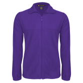 Fleece Full Zip Purple Jacket-Select-A-Logo