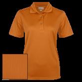 Ladies Orange Dry Mesh Polo-Select-A-Logo