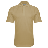 Vegas Gold Textured Saddle Shoulder Polo-Select A Varsity Sport
