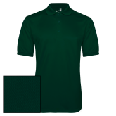 Dark Green Dry Mesh Polo-Select-A-Logo