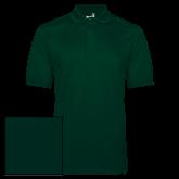 Dark Green Dry Mesh Polo-Select-A-Logo