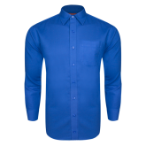 Royal Twill Button Down Long Sleeve-Select-A-Logo