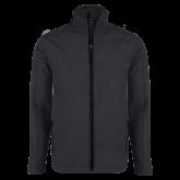 Charcoal Heather Softshell Jacket-Select-A-Logo