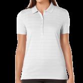 Ladies Callaway Opti Vent White Polo-Select-A-Logo