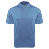 Light Blue Dry Mesh Polo-Select-A-Logo