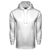 Under Armour White Performance Sweats Team Hood-Select-A-Logo