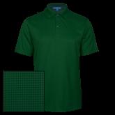 Dark Green Performance Fine Jacquard Polo-Select-A-Logo