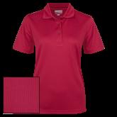 Ladies Cardinal Dry Mesh Polo-Select-A-Logo