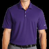 Nike Golf Dri Fit Purple Micro Pique Polo-Select-A-Logo