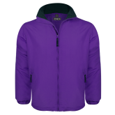 Purple Survivor Jacket-Select-A-Logo