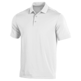 Under Armour White Performance Polo-Select a Major