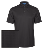 Charcoal Performance Fine Jacquard Polo-Select-A-Logo