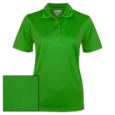 Ladies Kelly Green Dry Mesh Polo-Select-A-Logo