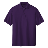 Purple Easycare Pique Polo-Select-A-Logo