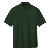 Dark Green Easycare Pique Polo-Select-A-Logo
