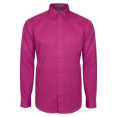 Maricopa Comm Tropical Pink Twill Button Down Long Sleeve-Select-A-Logo