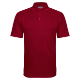 Cardinal Textured Saddle Shoulder Polo-Select-A-Logo