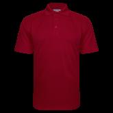 Cardinal Textured Saddle Shoulder Polo-Select-A-Logo