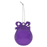 Purple Bulb Ornament-Select-A-Logo
