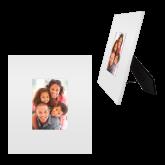 White Metal 5 x 7 Photo Frame-Select-A-Logo