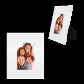 White Metal 4 x 6 Photo Frame-Select-A-Logo