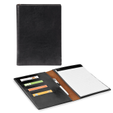 Fabrizio Junior Black Padfolio-Select-A-Logo
