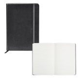 Fabrizio Black Hard Cover Journal-Select-A-Logo