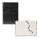 Fabrizio Black Soft Cover Journal-Select-A-Logo
