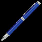 Colonnade Blue Twist Pen-Select-A-Logo