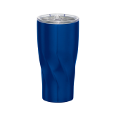 Hugo Vacuum Insulated Blue Tumbler 20oz-Select-A-Logo