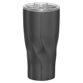 Mega Hugo Vacuum Insulated Graphite Tumbler 30oz-Select-A-Logo