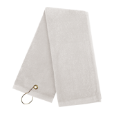 White Golf Towel-Select-A-Logo