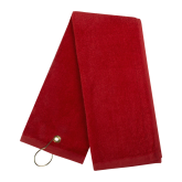 Red Golf Towel-Select-A-Logo