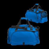 Challenger Team Royal Sport Bag-Select-A-Logo