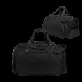 Challenger Team Black Sport Bag-Select-A-Logo