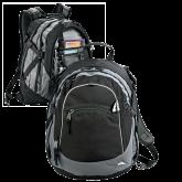 High Sierra Black Titan Day Pack-Select-A-Logo